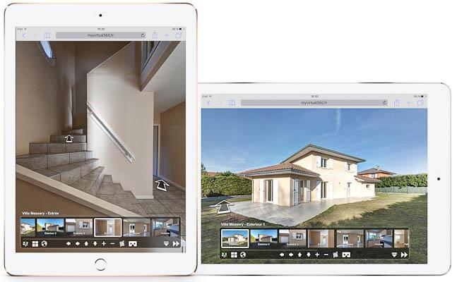 Visite virtuelle pour immobilier