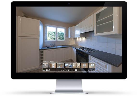 Visite virtuelle sur Mac