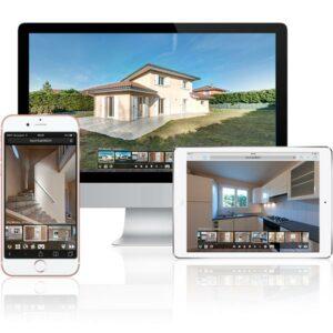 Visite virtuelle pour l'immobilier